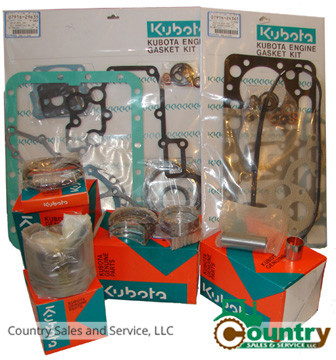 KUBOTA ENGINES D 722 Filter Service Kit
