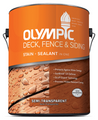 Olympic Deck, Fence & Siding Stain Semi-Transparent Gallon