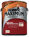 Olympic Maximum Stain and Sealant in One Solid Color Gallon