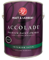 Pratt & Lambert Premium Accolade Interior Acrylic Latex Satin Gallon
