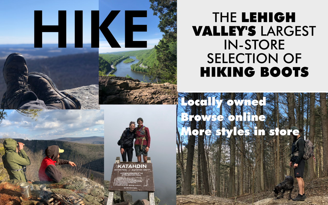 Shop Hiking Boots at Chaar - the Lehigh Valley's Largest in store selection of hiking boots