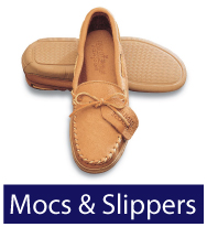 Men's Moccasins & Slippers