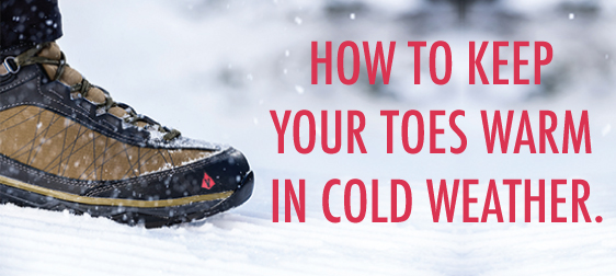 How to keep your feet warm in the cold