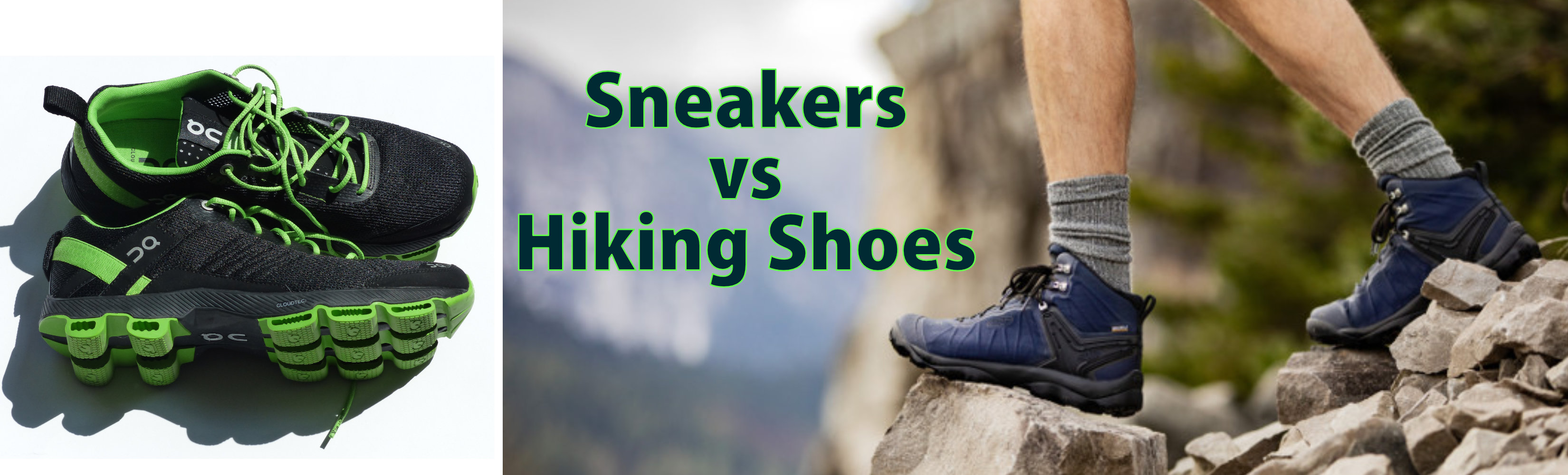 Sneakers Vs Hiking Shoes