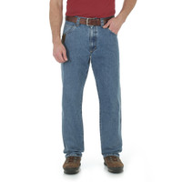 Wrangler Men's Riggs Workerwear Carpenter Jean With Cool Vantage - Ligh Wash
