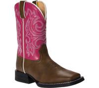 Durango Kids Mustang Pink Boot