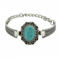 Montana Silversmiths Southwestern Sunflower Banded Bracelet Attitude Jewelry