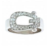 Montana SilverSmiths Stunning Stirrup Ring