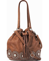Blazin Roxx Rhianna Bucket Bag Brown
