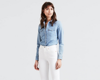 Levis Women's   Tailored Western Shirt