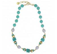 Montana Silversmiths Summer Skies Beaded Necklace Attitude Jewelry