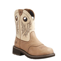 Ariat Women Heritage Cowgirl Western Boot - Tan