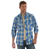Wrangler Men's Retro® Long Sleeve Shirt - Plaid