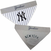 New York Yankees Reversible Dog Bandana