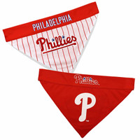 Philadelphia Phillies Reversible Dog Bandana