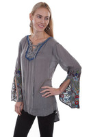 Scully Lace-Up Tunic