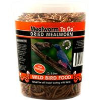 Dried Mealworm To Go 5.5oz