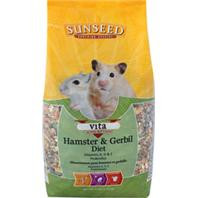 Vita Hamster & Gerbil Food 2.5lb