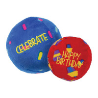 Kong Birthday Balls - 2 pack