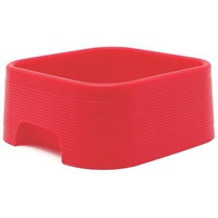Square Silicone Pet Dish