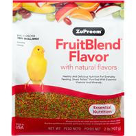 ZuPreem Fruitblend Diet  XS Bird 2lb