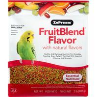ZuPreem Fruitblend Diet Small Birds 2lb