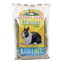 Sun Basics Pet Rabbit Pellets 6lb
