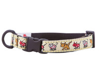 Kitten Breakaway Collar - Kitty Cats Yellow