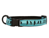 Kitten Breakaway Collar - Birds on a Wire