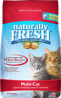 Naturally Fresh Multi-Cat Litter