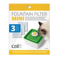 Mini Fountain Filters 3 pack