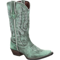 Dream Catcher Teal Western Boot