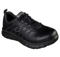 Skechers Work Leather Martley St