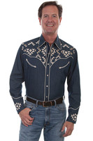 Scully Mens Denim Shirt