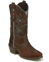 Justin Women's Sun Buffalo Western Boots