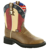 Justin Chellie Stars and Stripes Women's Boot