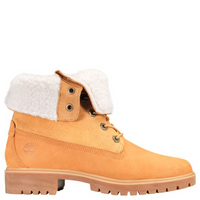 Timberland Women's Jayne Waterproof Fleece Fold-Down Boots - Wheat
