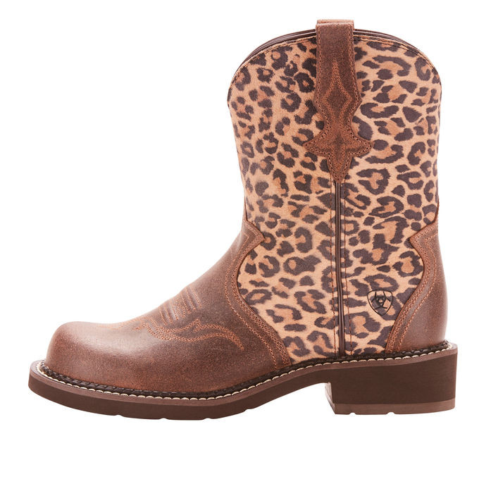 57377a35b37 Ariat Fatbaby Heritage Leopard Western Boot