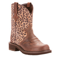 Ariat Fatbaby Heritage Leopard Western Boot