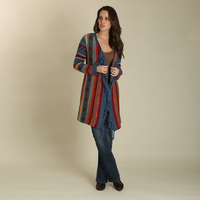 Women's Wrangler Long Sleeved Fringed Duster