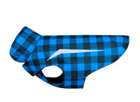 RCPets Shasta Coat Blue Buffalo Plaid