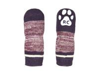 RC Pets PAWks Dog Socks Burgundy
