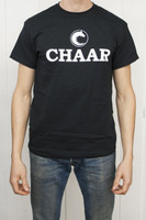 Chaar Tee Shirt - Black Unisex Crew Neck