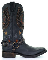Corral Mens Black Eagle Harness Boot