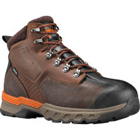 "Timberland Pro Mens Downdraft 6"" Alloy Toe Boots Brown"