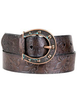 Ariat Womens Horseshoe Leather Belt