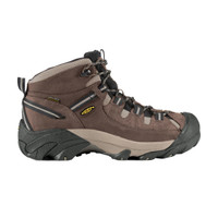 Keen Men's Targhee II Mid Wide Hiking Boot - Shitake/Brindle