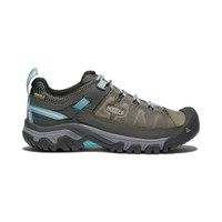 Keen Womens Targhee III Waterproof Hiking Shoe Alcatraz/Turquoise