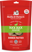 Stella & Chewy's Duck Duck Goose Freeze Dried Dinner Patties 25oz