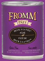 Fromm Duck A La Veg Pate 12.2oz